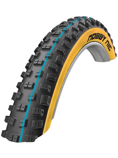 """SCHWALBE Nobby Nic - Pneu vélo - 26"""" Addix Speedgrip LiteSkin beige/noir"""